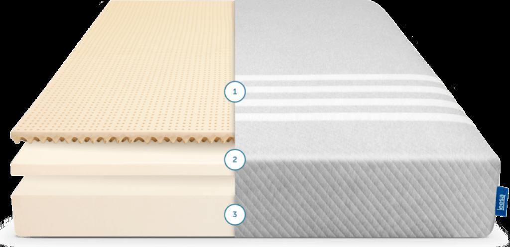 best mattress for side sleeper leesa layers