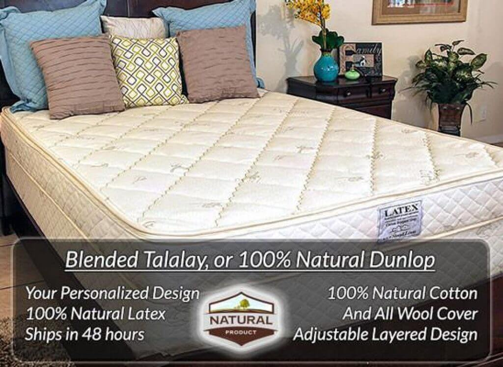 best natural latex mattress sleep ez