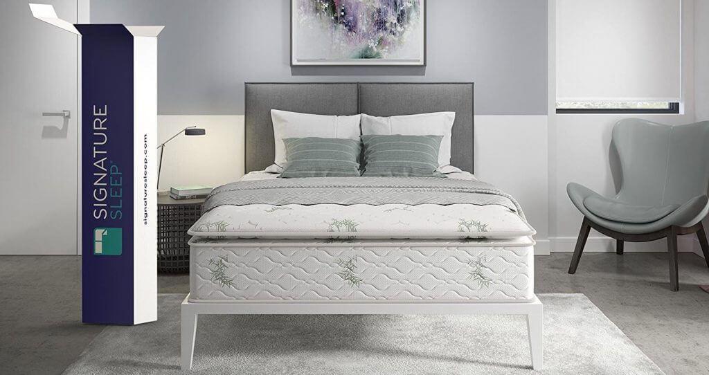 best innerspring mattress signature sleep