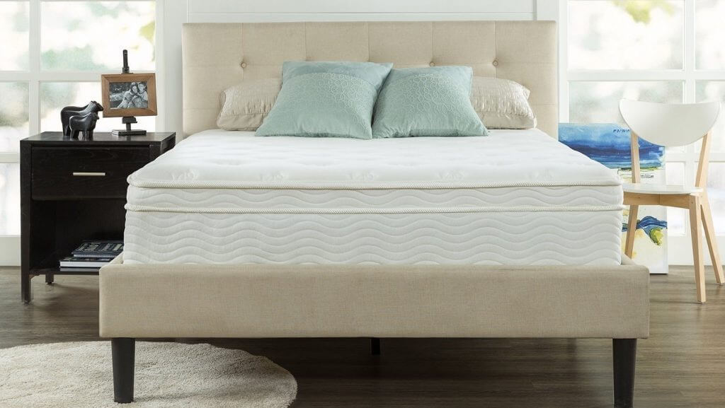 best innerspring mattress review zinus ultima