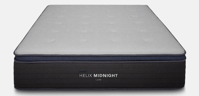 best pillow top mattress review helix