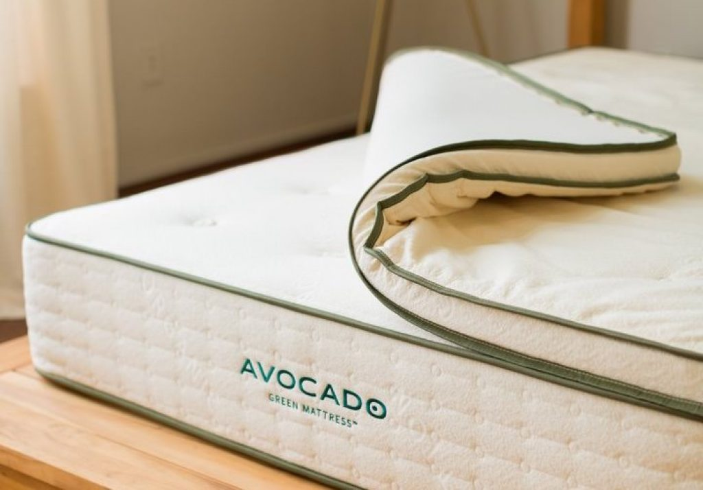 best organic mattress topper avocado