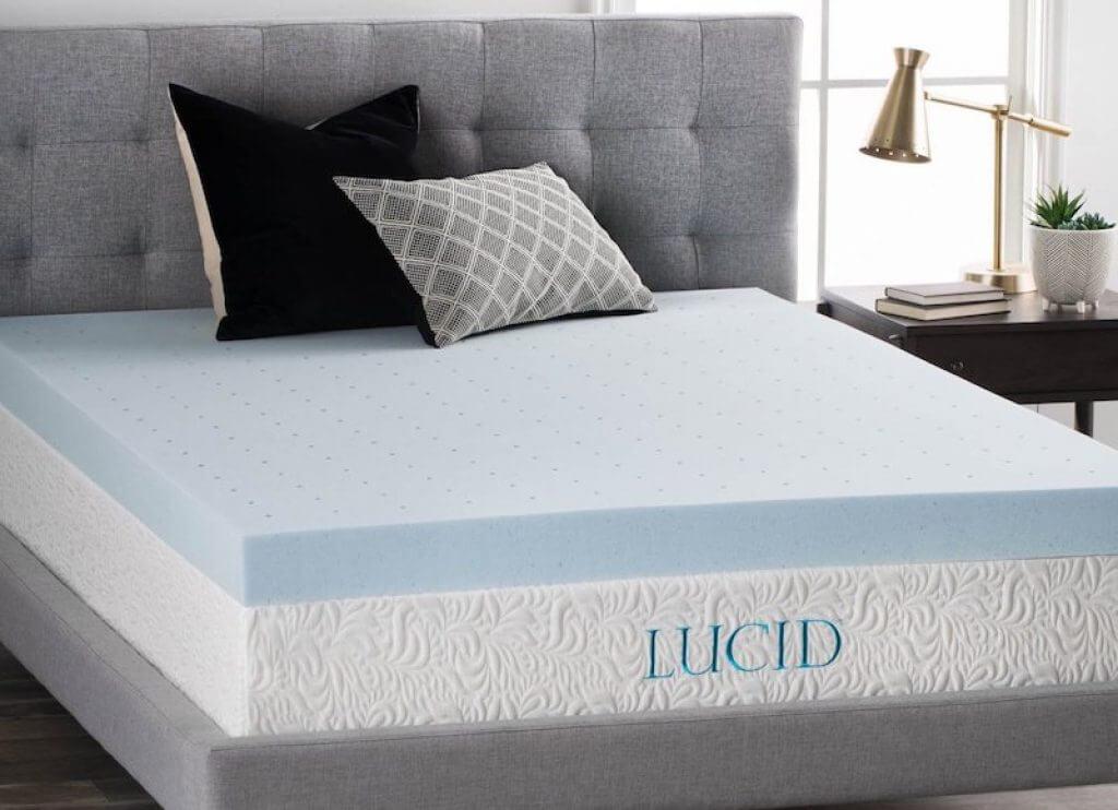 best cooling mattress topper lucid