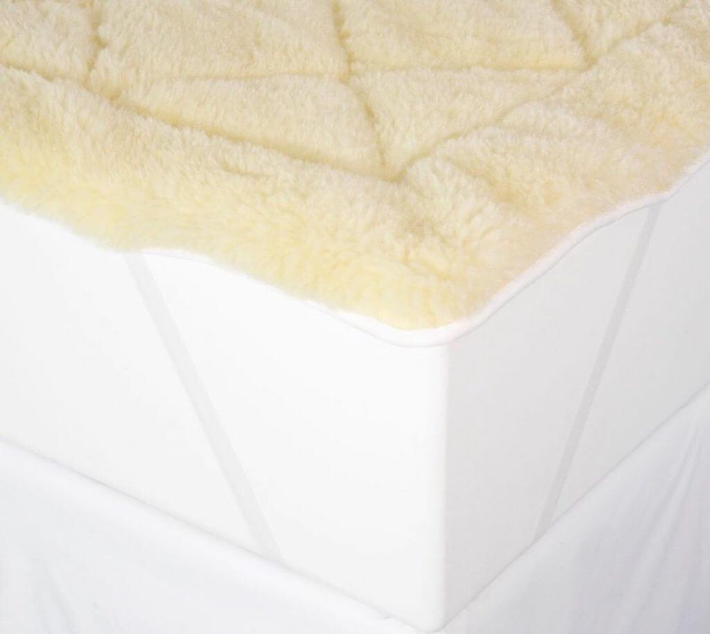 best wool mattress pad