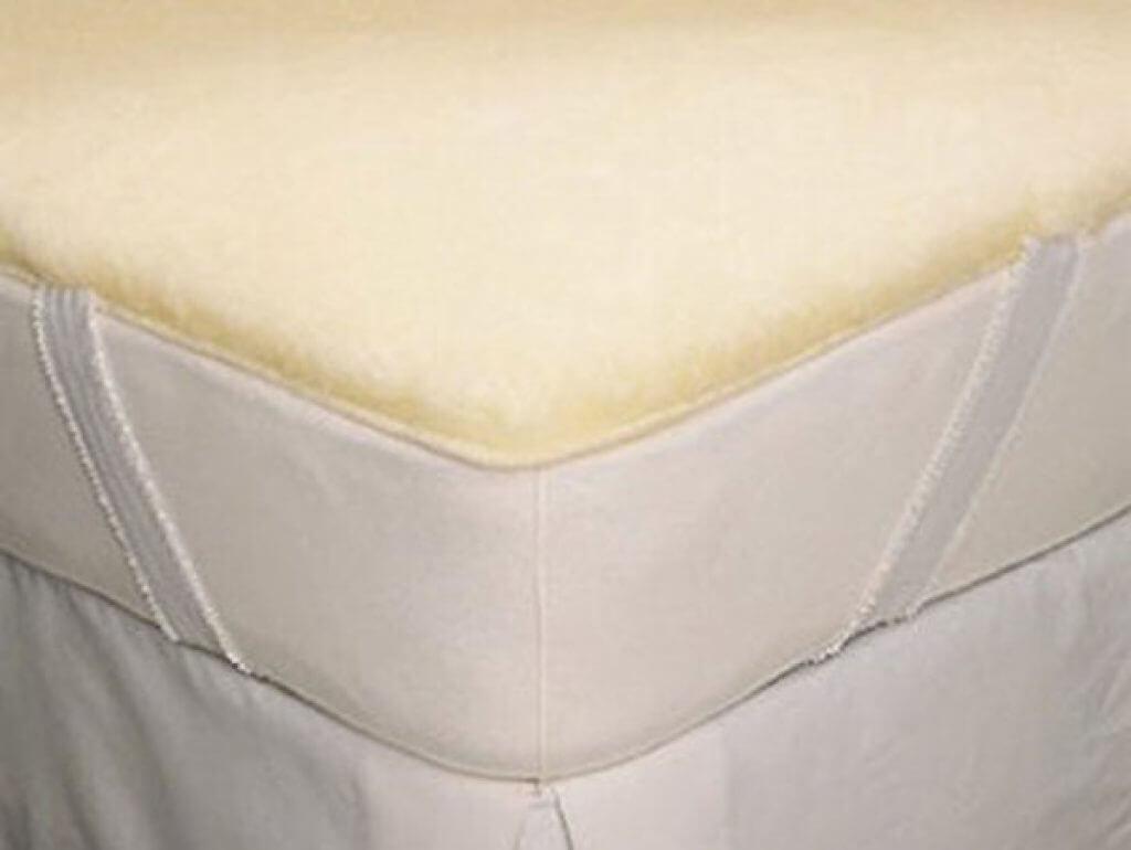 snuggle fleece wool pad